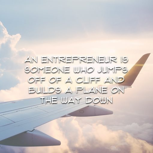 AN ENTREPRENEUR IS SOMEONE WHO…